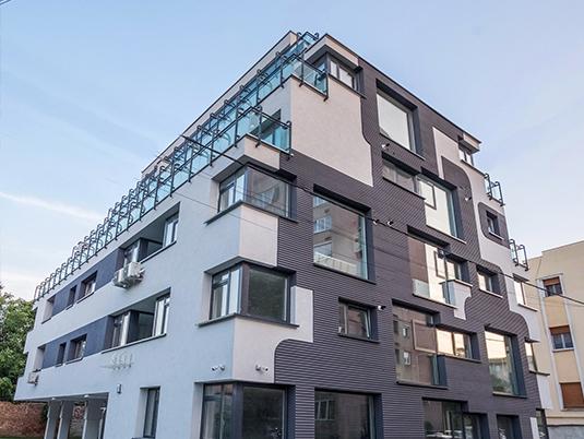 poza exterior Bourgeois bloc apartament premium