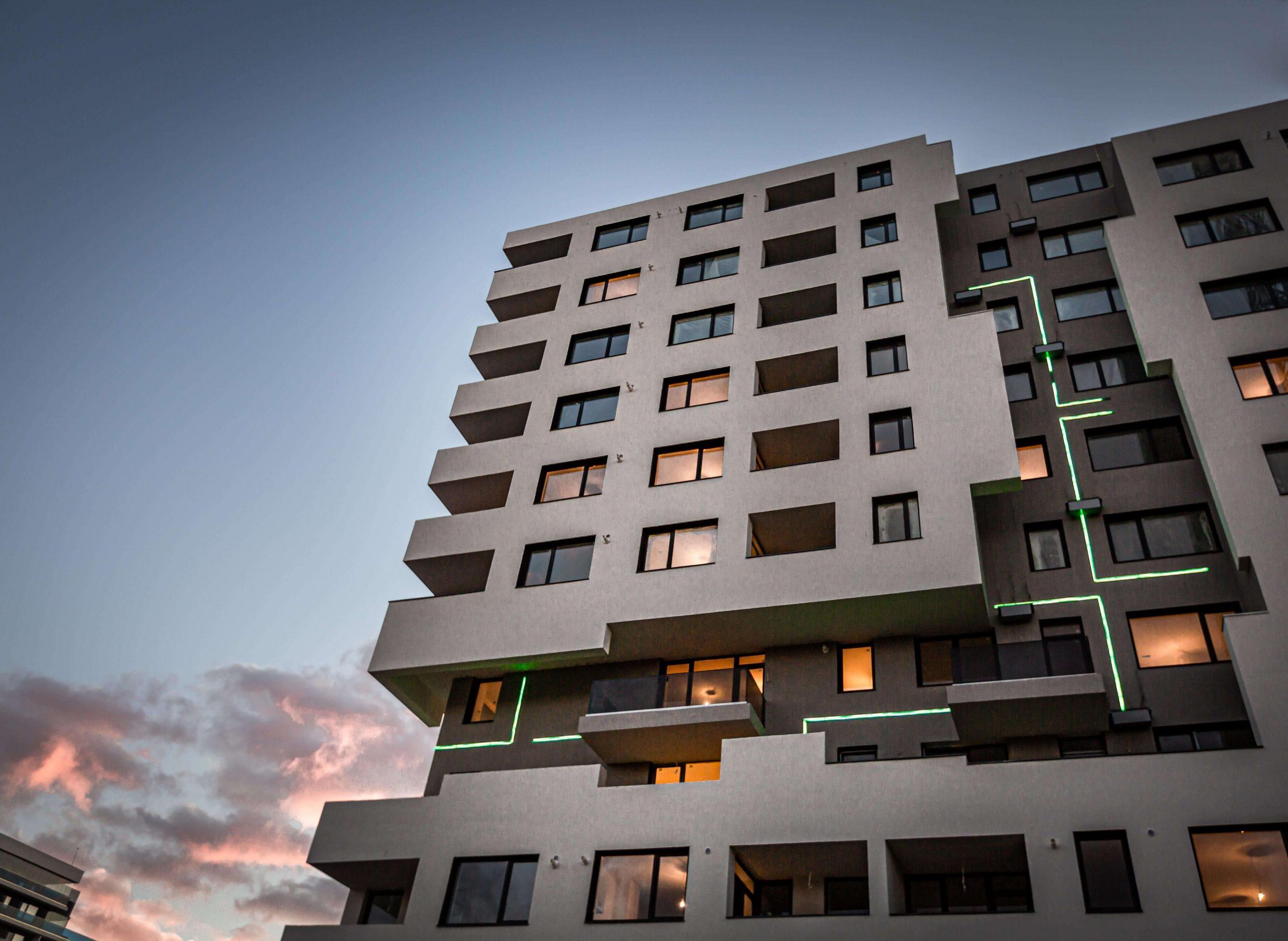 poza exterior sunnyville bloc apartament